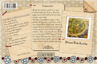 Recipe Card Bacon Brie Quiche