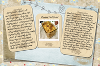 Banana Nut Bread Recipe Card