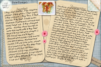 Recipe Card Chimichanga