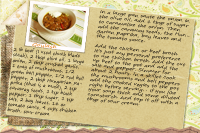 Recipe Card Goulash