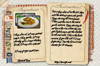 Recipe Card Spanish Rice