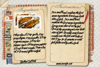 Recipe Card Baked Catfish