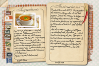 Recipe Card Tomato Soup