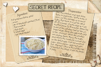 American Potato Salad Recipe Card