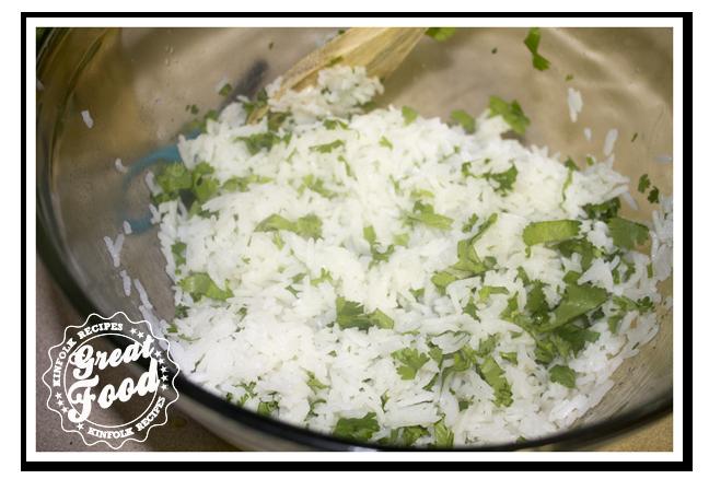 Chipotle Cilantro Lime Rice'KinFolkRecipes