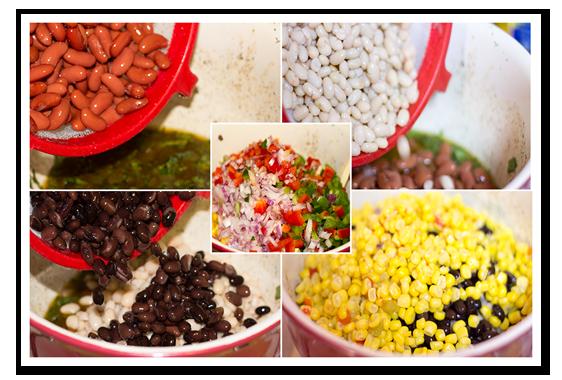 fiesta beans salad storyboard5
