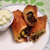 South Western Egg Roll