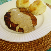 thumbs chicken fried steak Beef
