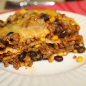 thumbs quesadilla casserole Beef