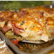 Muffuletta Pizza Rolls
