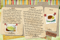 Recipe Card Brown Beans and Rice
