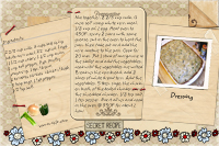recipe card cornbread dressing