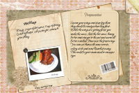 Recipe Card Hot wings