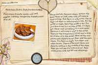 Recipe Card Pork Chops