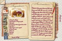 Recipe Card Purple Cabbage