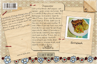 Succotash recipe card