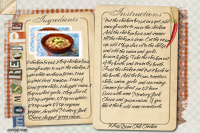 Recipe Card White Bean Chili Chicken