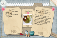 Green Beans Recipe Card