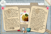 Spaetzle recipe card