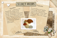 Taco Seasonings Recipe Card