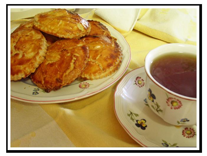Gevulde Koeken (Almond Paste Cookie)