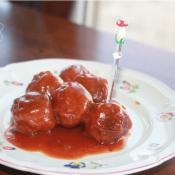 Cranberry-BBQ-Meatballs