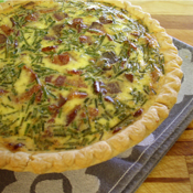 Bacon-Brie-Quiche