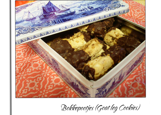 Bokkepootje (Goat leg cookie,Dutch)