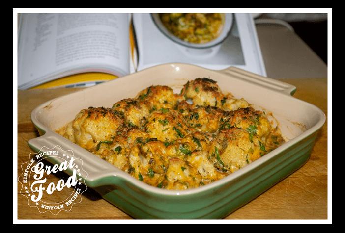 Curry Mustard Cauliflower