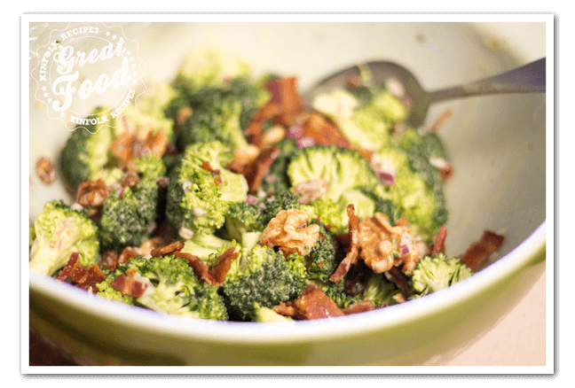 Famous Dave's Broccoli Salad