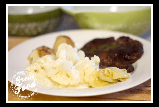 Cauliflower with Bechamel Sauce