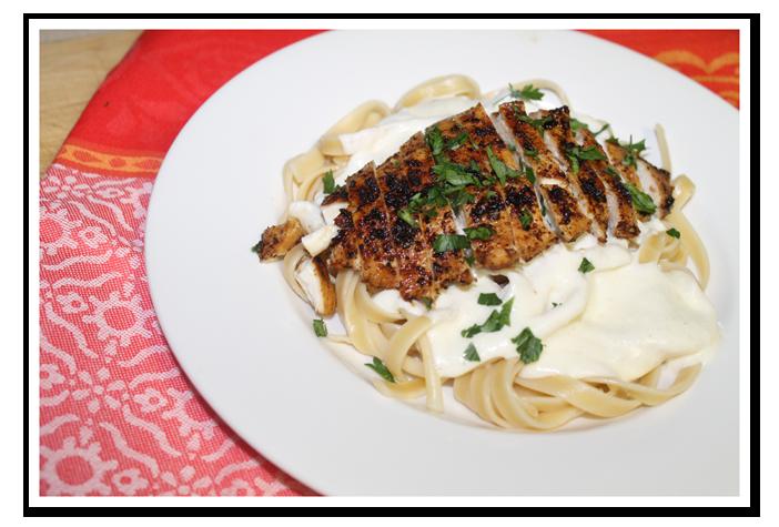 Olive Garden's Chicken Alfredo Fettuccine