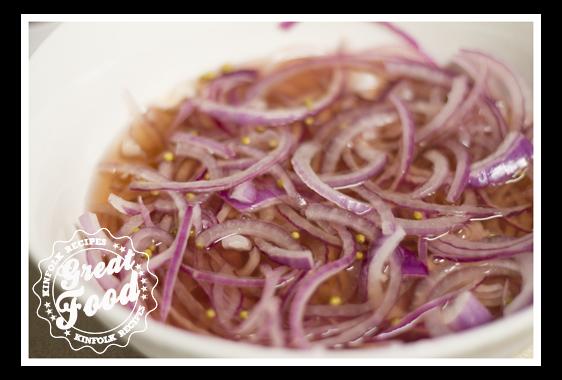 Pickled Purple Onion